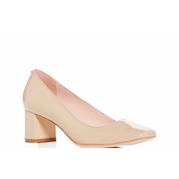 kate spade Shoes - Kate Spade Kylah Patent Leather Block Heel Pump